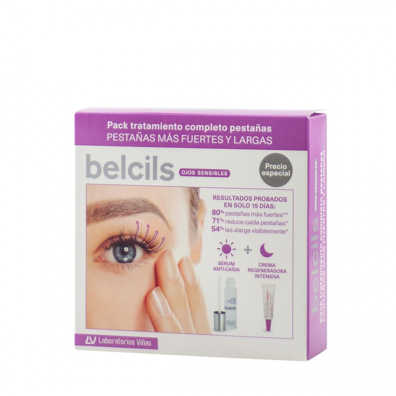 Belcis pack tratamiento completo pestañas-Farmacia Olmos