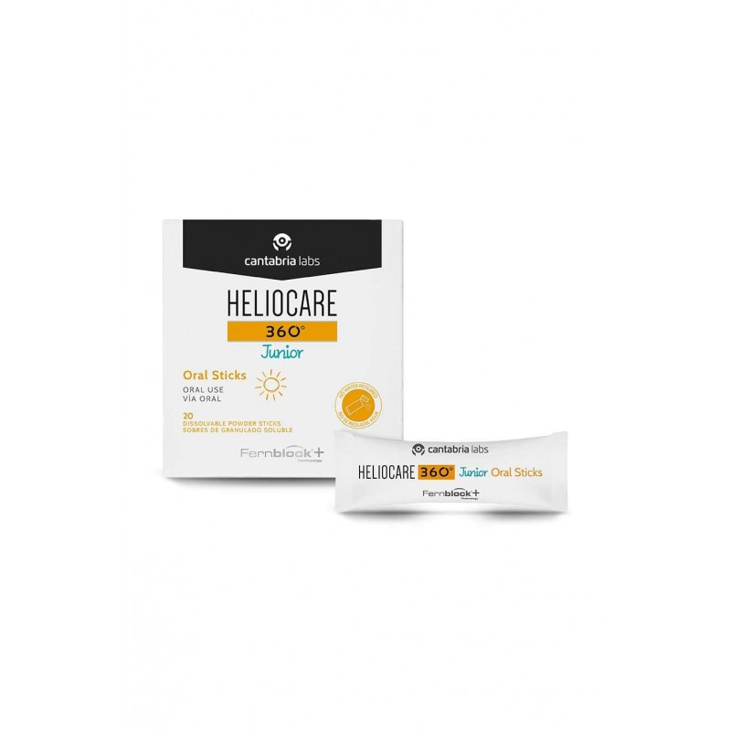 Heliocare 360º junior oral sticks 20 sobres - Farmacia Olmos
