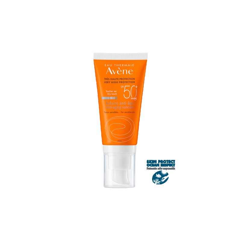 Avene Solar anti-edad protección muy alta spf 50+ 50 ml - Farmacia Olmos