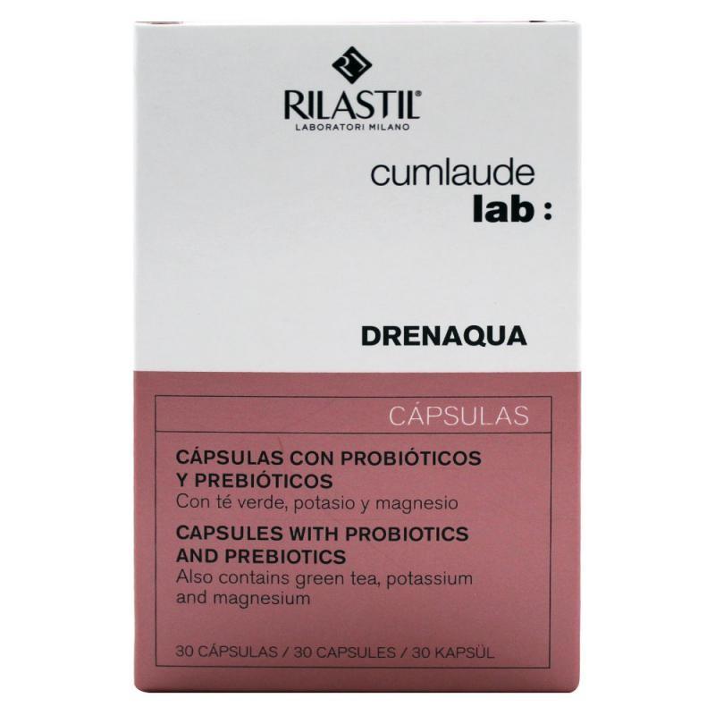 Cumlaude lab: drenaqua 30 capsulas-Farmacia Olmos
