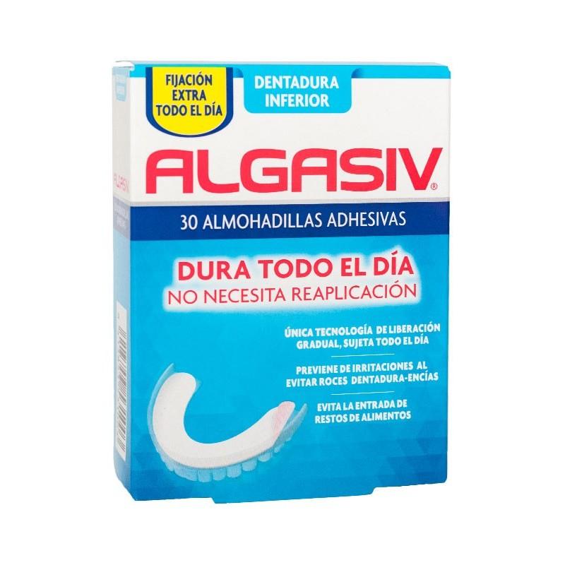 Algasiv inferior 30 almohadillas adhesivas-Farmacia Olmos