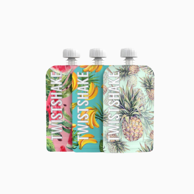 Twistshake 3 squeeze bag 220ml- Farmacia Olmos