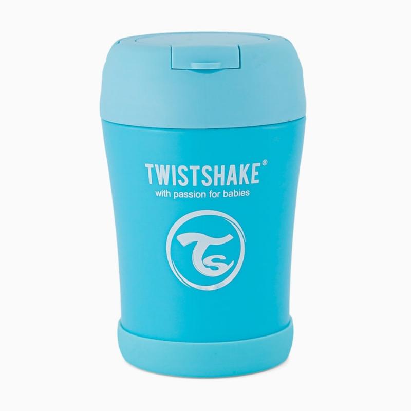 Twistshake food container azul 350ml-Farmacia Olmos