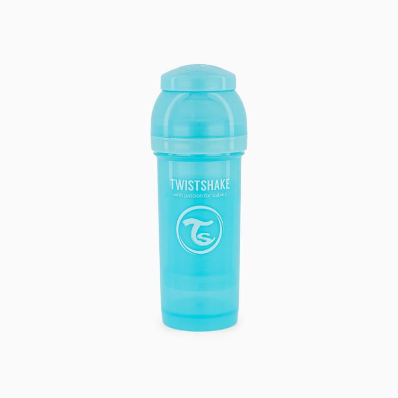 Twistshake biberon anti-colico azul 330ml- Farmacia Olmos