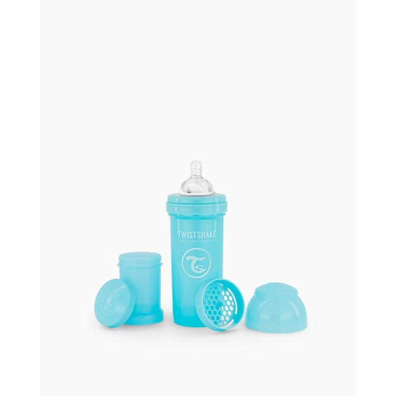 Twistshake biberon anti-colico azul 260ml-Farmacia Olmos