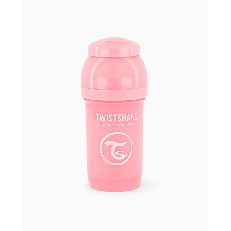Twistshake biberon anti-colico rosa 180ml- Farmacia Olmos