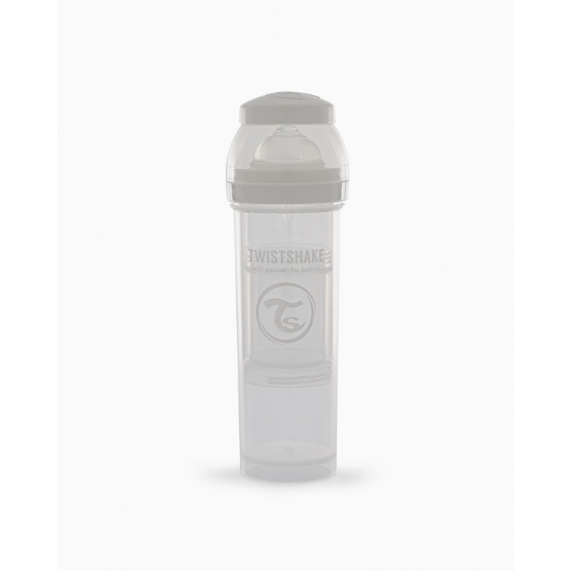 Twistshake biberon anti-colico  blanco 330ml-Farmacia Olmos