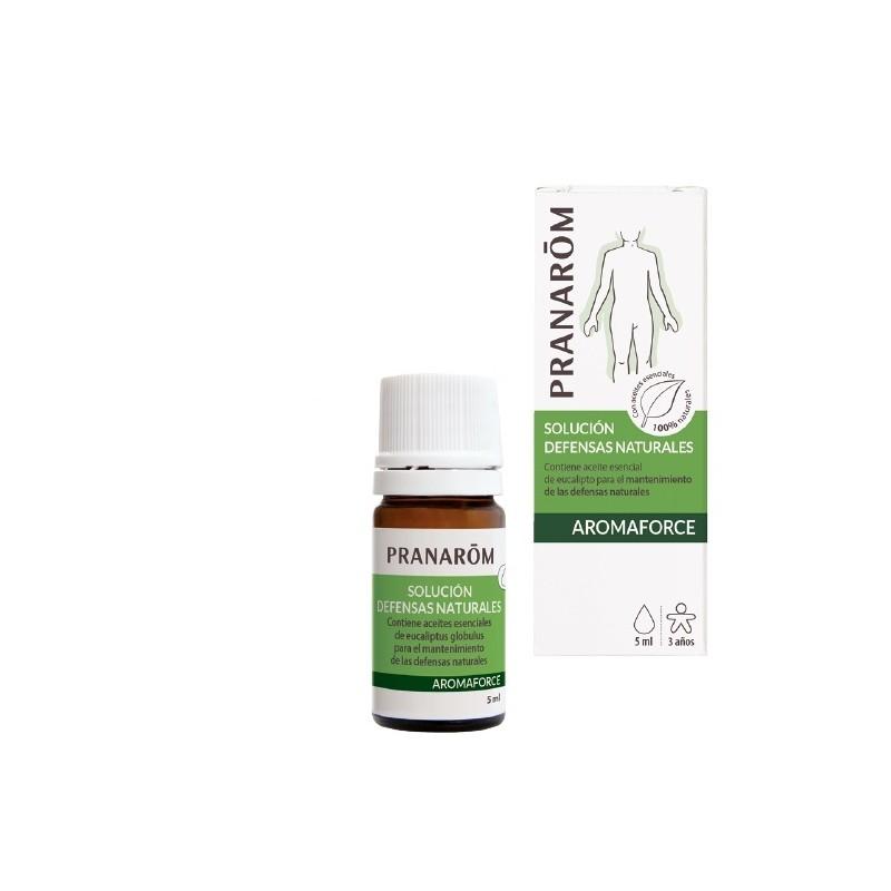 Pranarom aromaforce solucion defensas naturales 5ml - Farmacia Olmos