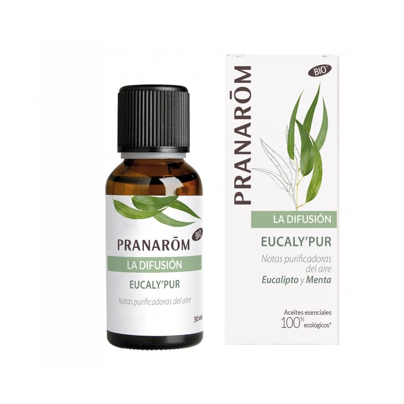 Pranarom la difusion eucalipur 30ml-Farmacia Olmos