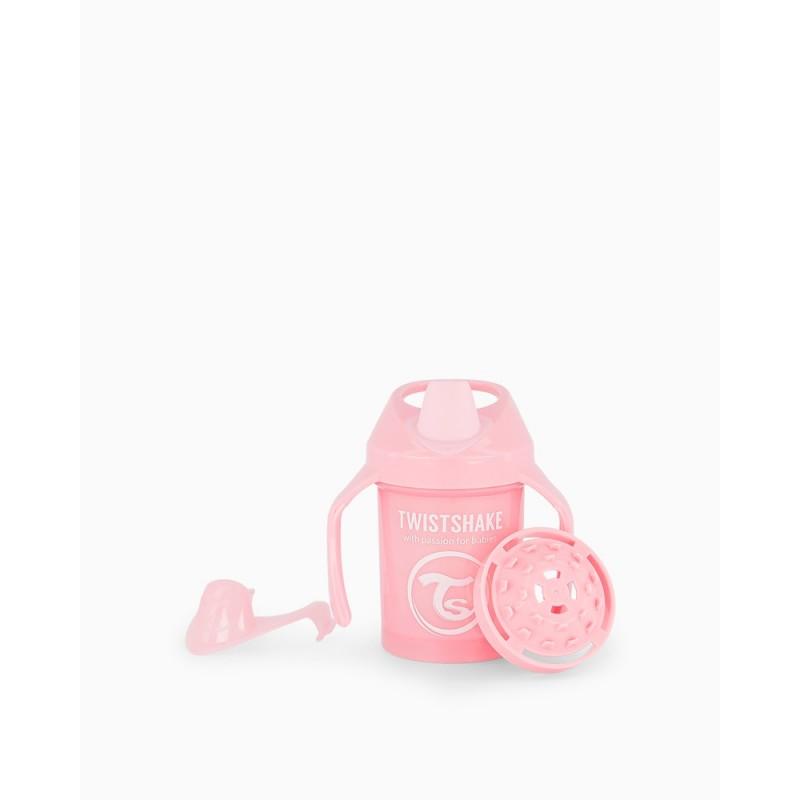 Twistshake taza rosa +4m 230ml6- Farmacia Olmos