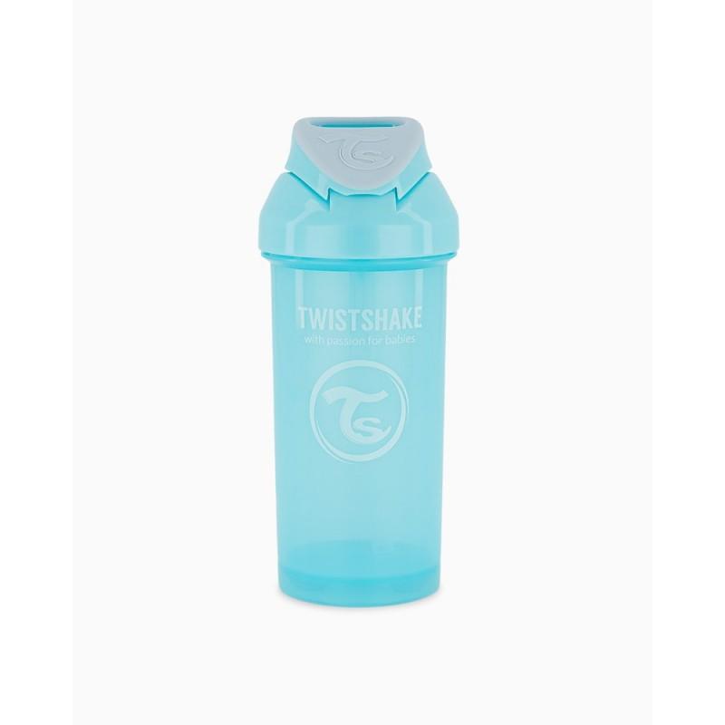 Twistshake straw cup azul +6m 360ml-Farmacia Olmos
