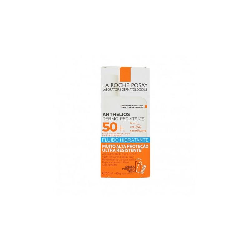 La roche posay anthelios dermopediatrics spf50+ fluido hidratante 50ml-Farmacia Olmos