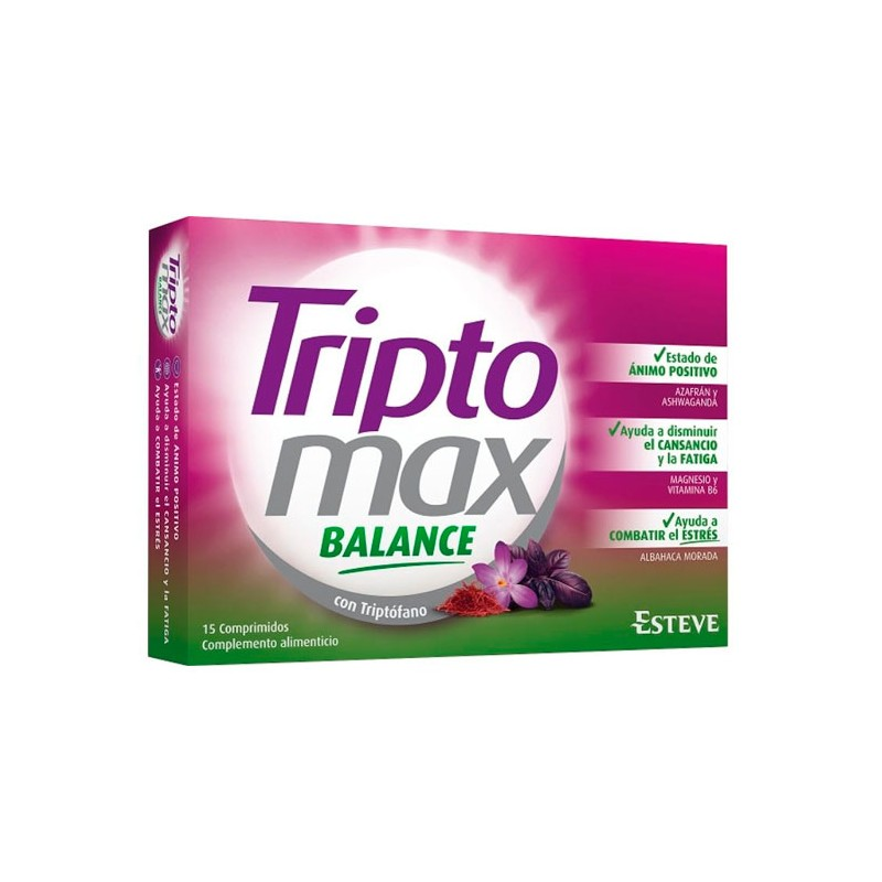 Triptomax balance 15 comprimidos-Farmacia Olmos