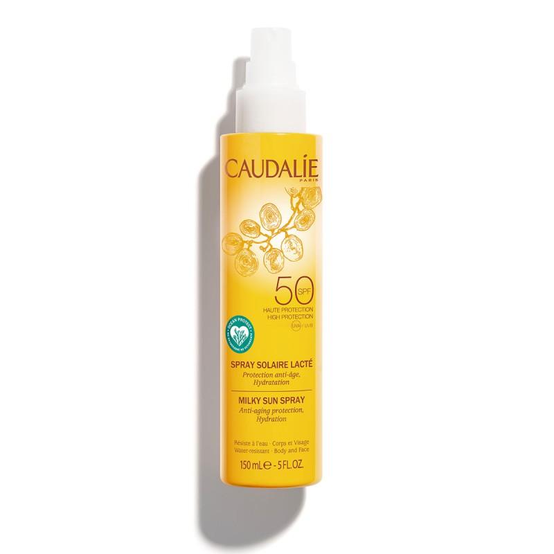 Caudalie leche solar spray spf50 150ml - Farmacia Olmos