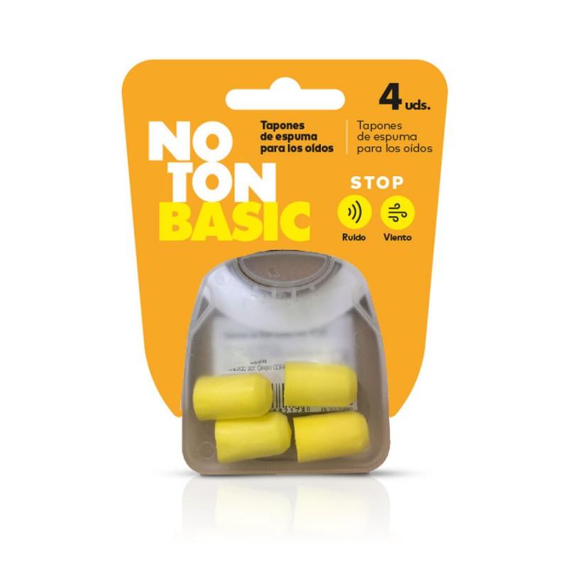 Noton tapones oido Basic 4 unidades - Farmacia Olmos