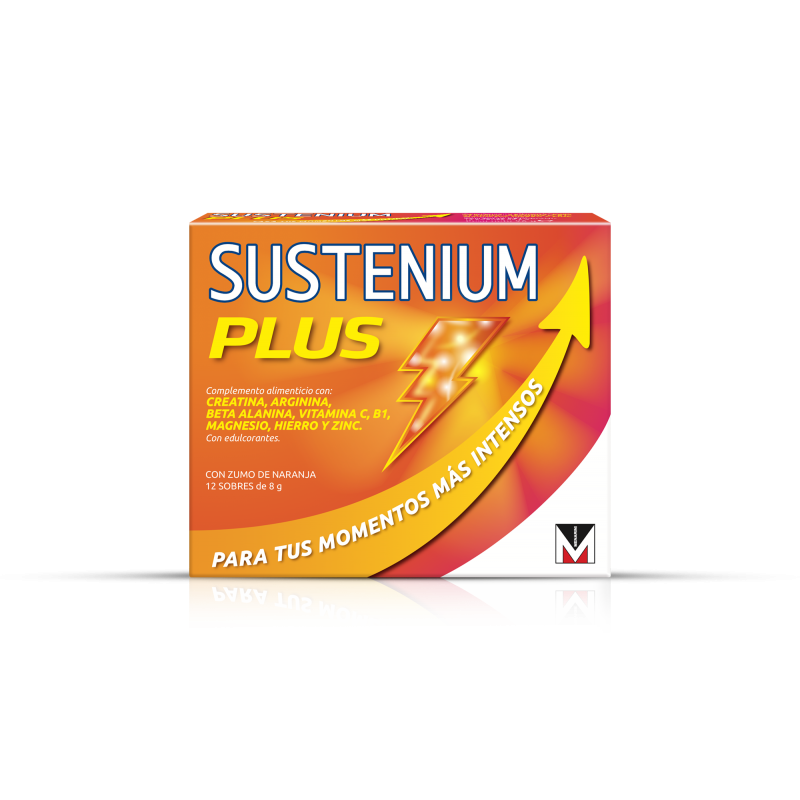 Sustenium plus 12 sobres duplo - Farmacia Olmos