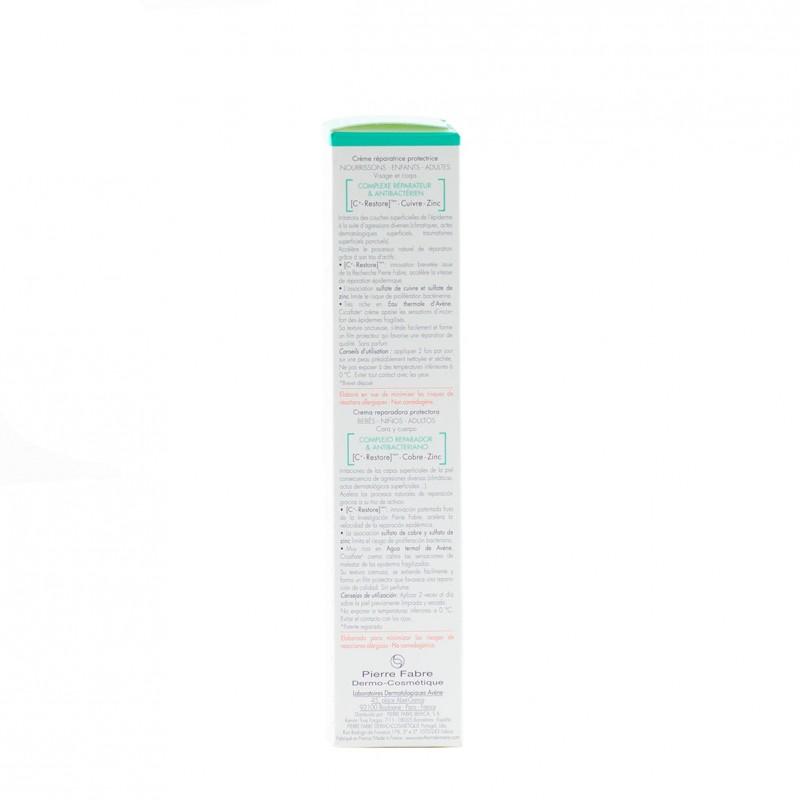 Avene cicalfate crema reparadora 100ml-Farmacia Olmos