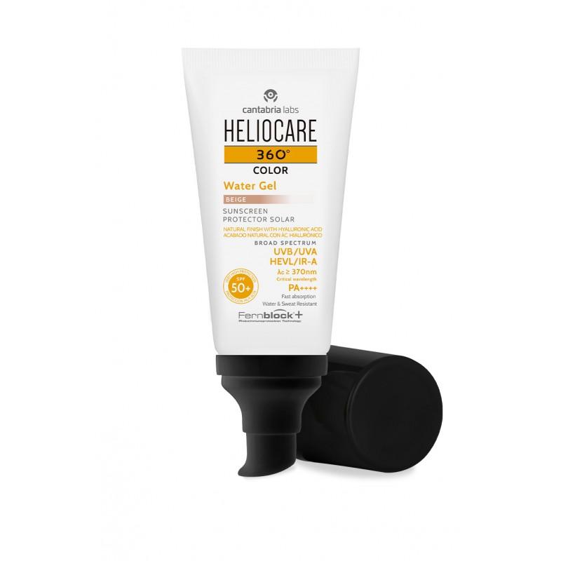 Heliocare 360º color water gel spf50+ 50ml beige-Farmacia Olmos