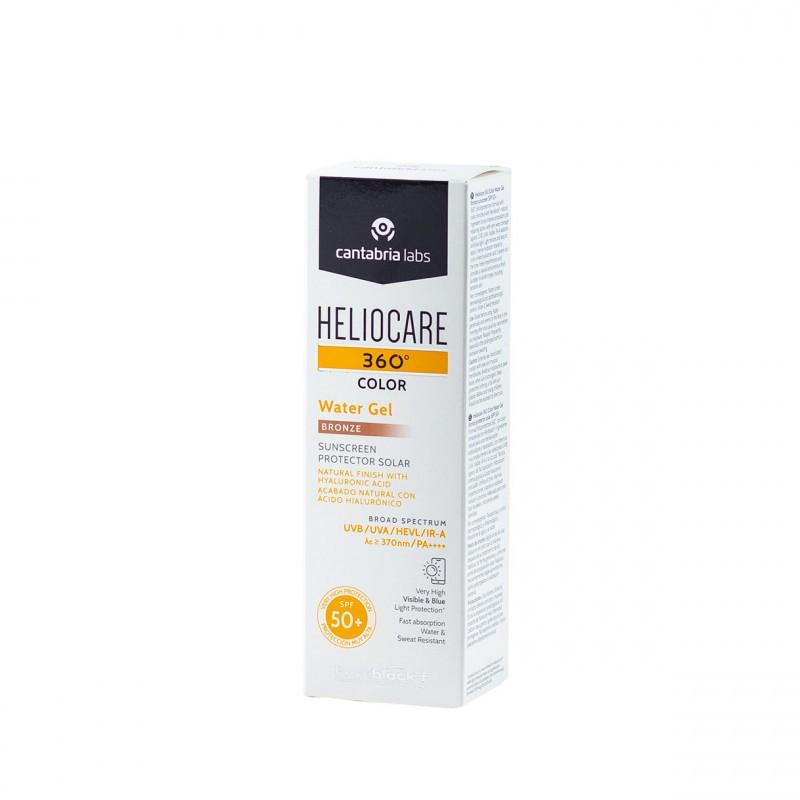 Heliocare 360º color water gel spf 50+ 50ml bronze-Farmacia Olmos