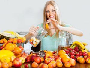 Alimentacion rica en vitamina C