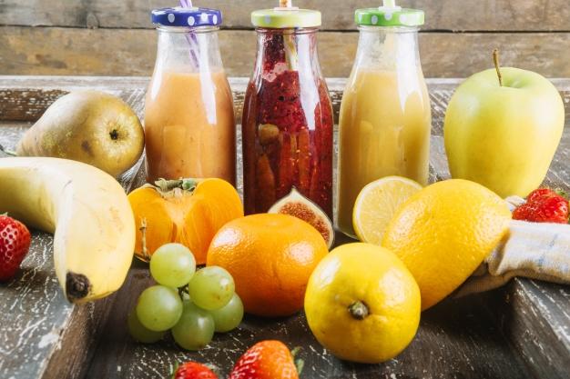 Frutas y batidos detoxificantes