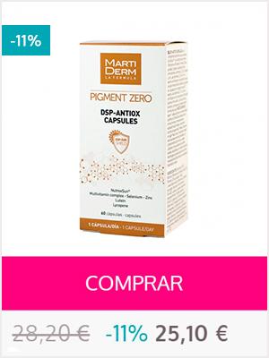Martiderm Pigment zero - dsp antiox capsulas