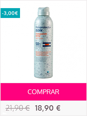 Isdin fotoprotector - spf 50 spray transparente - wet skin
